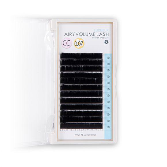エアリーボリュームラッシュ リュクス D 0.07 × 12mm