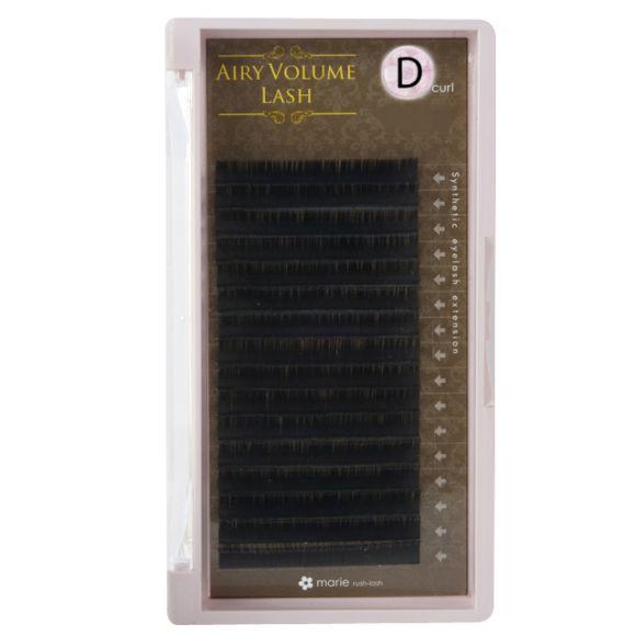 エアリーボリュームラッシュ D 0.08 × 04mm
