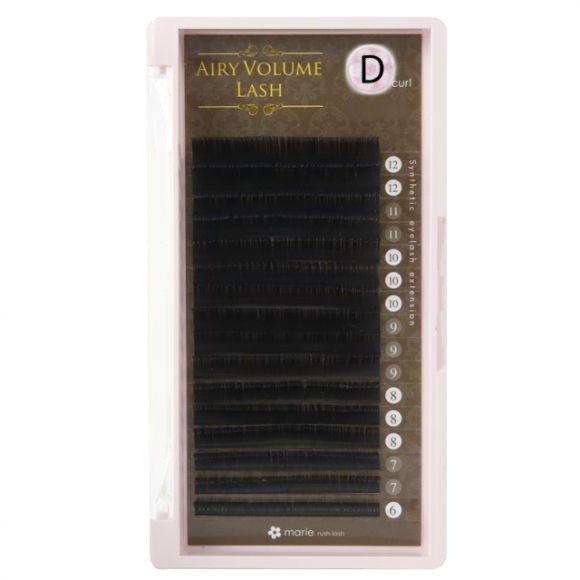 エアリーボリュームラッシュ D 0.05 × 6-12mm Mix