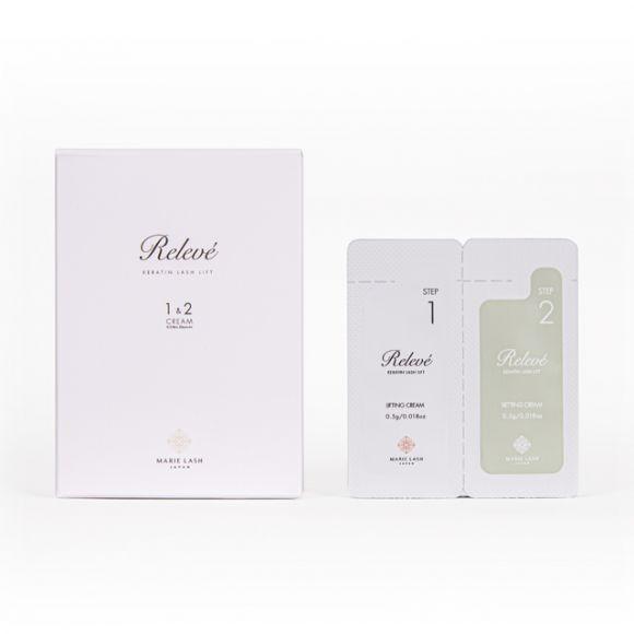 リルべ ケラチンラッシュ&ブロウクリーム1、2液(20セット)