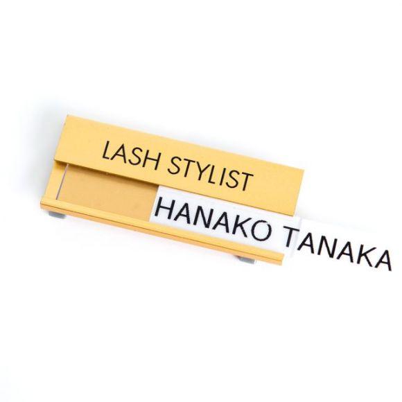 LASH STYLISTネームタグ