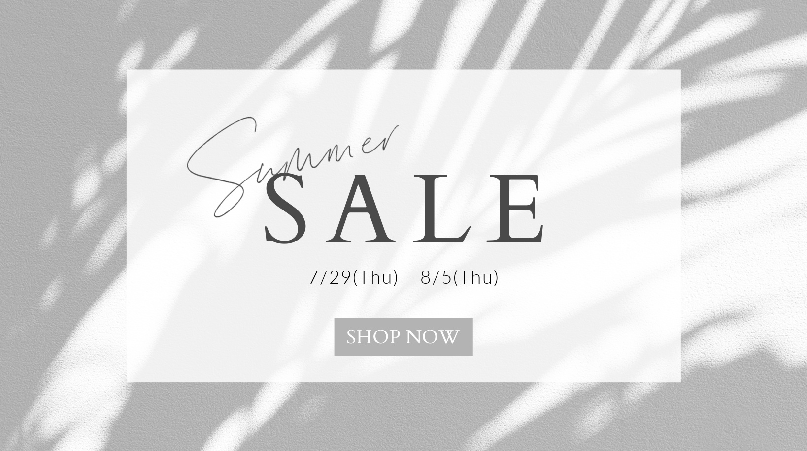 Summer sales Japan 2021